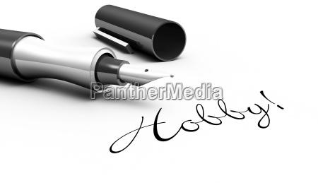 hobby pen concept