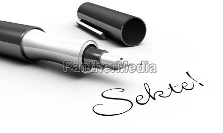 sect pen concept