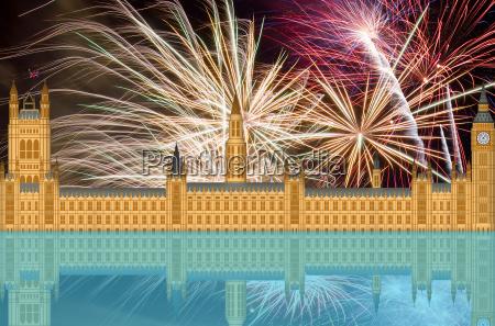 haus gebaeude london england reichstag parlament