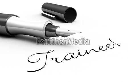 trainee pen concept