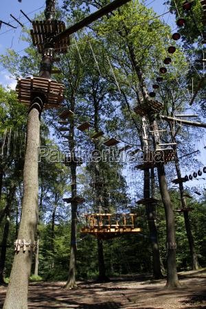 kletterwald auf dem kluet hameln