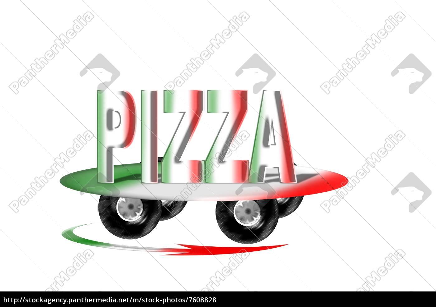 pizza, service, - 7608828