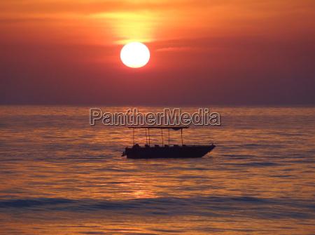sundown at colva