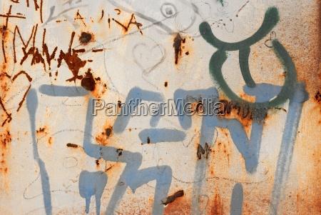 chaos graffiti oberflaeche chaotisch konfusion hintergrund