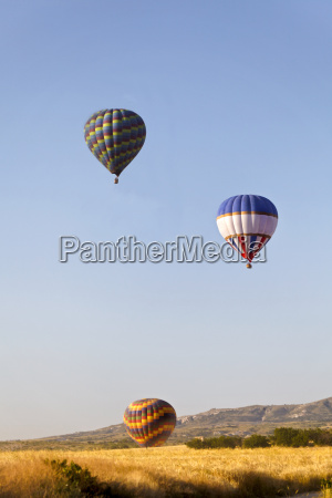 3009 p4 heissluftballons steigen
