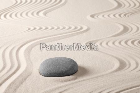 zen meditation steingarten