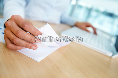 working with papers