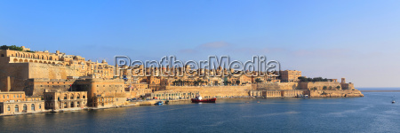 panorama of valletta