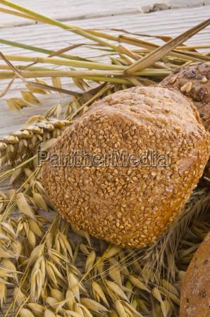 mixed bread