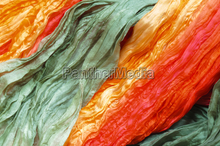 colorful silk