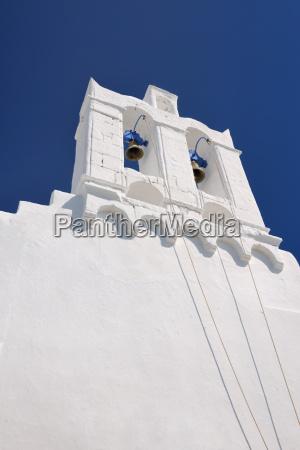 belfry on greek island of sifnos