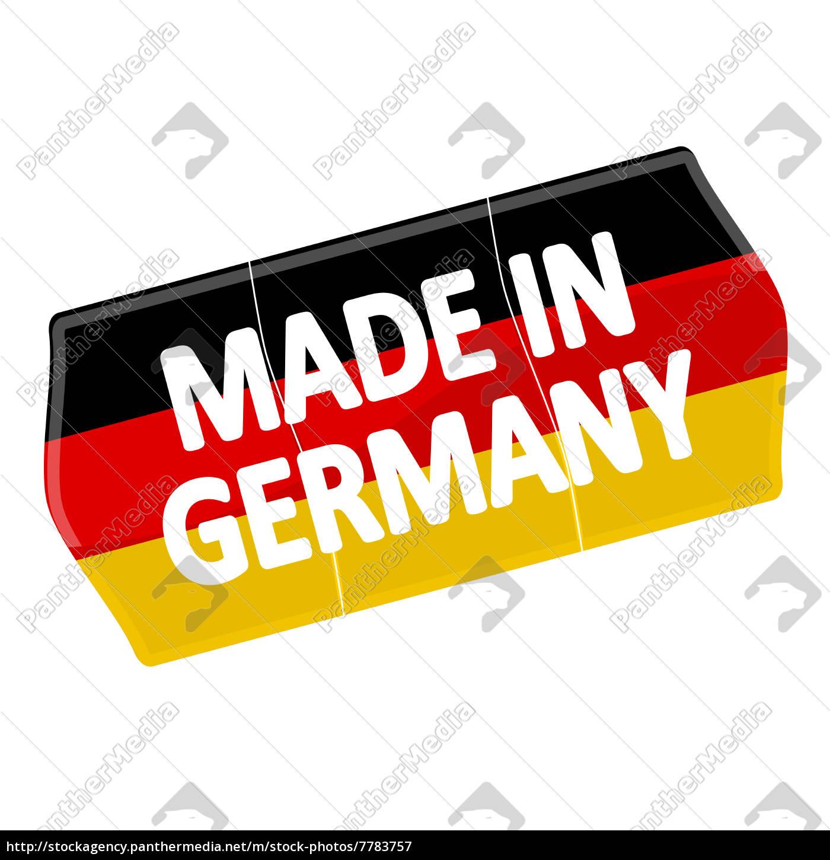 Preisschild Made In Germany Lizenzfreies Bild 7783757