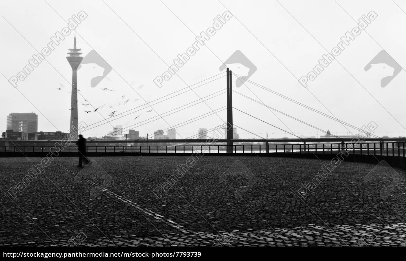 düsseldorfer, rheinbrücke - 7793739