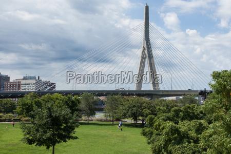 zakim bridge from paul revere park