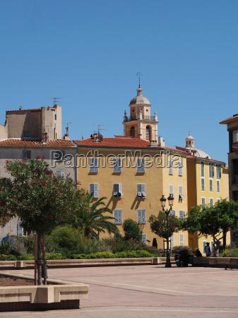 ajaccio august 2012 city center