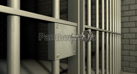 interior knast prision crimen celula abierto