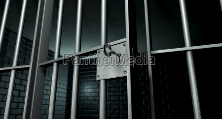 interior libertad knast prision crimen celula