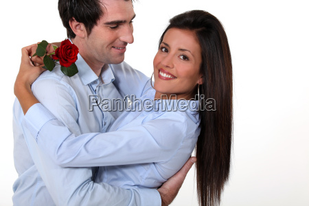 couple on valentines day