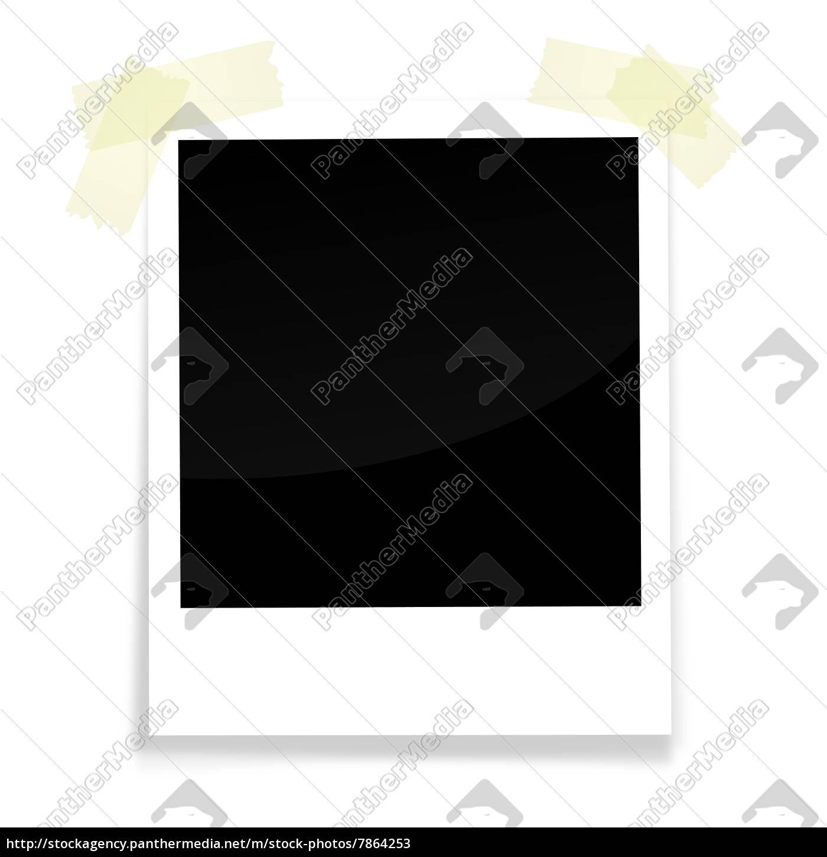 Polaroid mit Klebestreifen - Lizenzfreies Bild - #7864253 ...