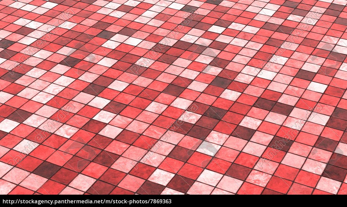 Fußboden Fliesen Rot ~ Hintergrund bodenfliesen rot bunt stockfoto