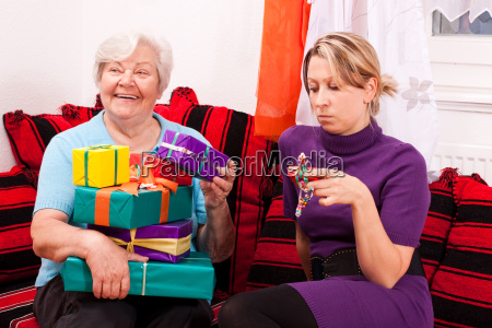 seniorin has many gifts young woman