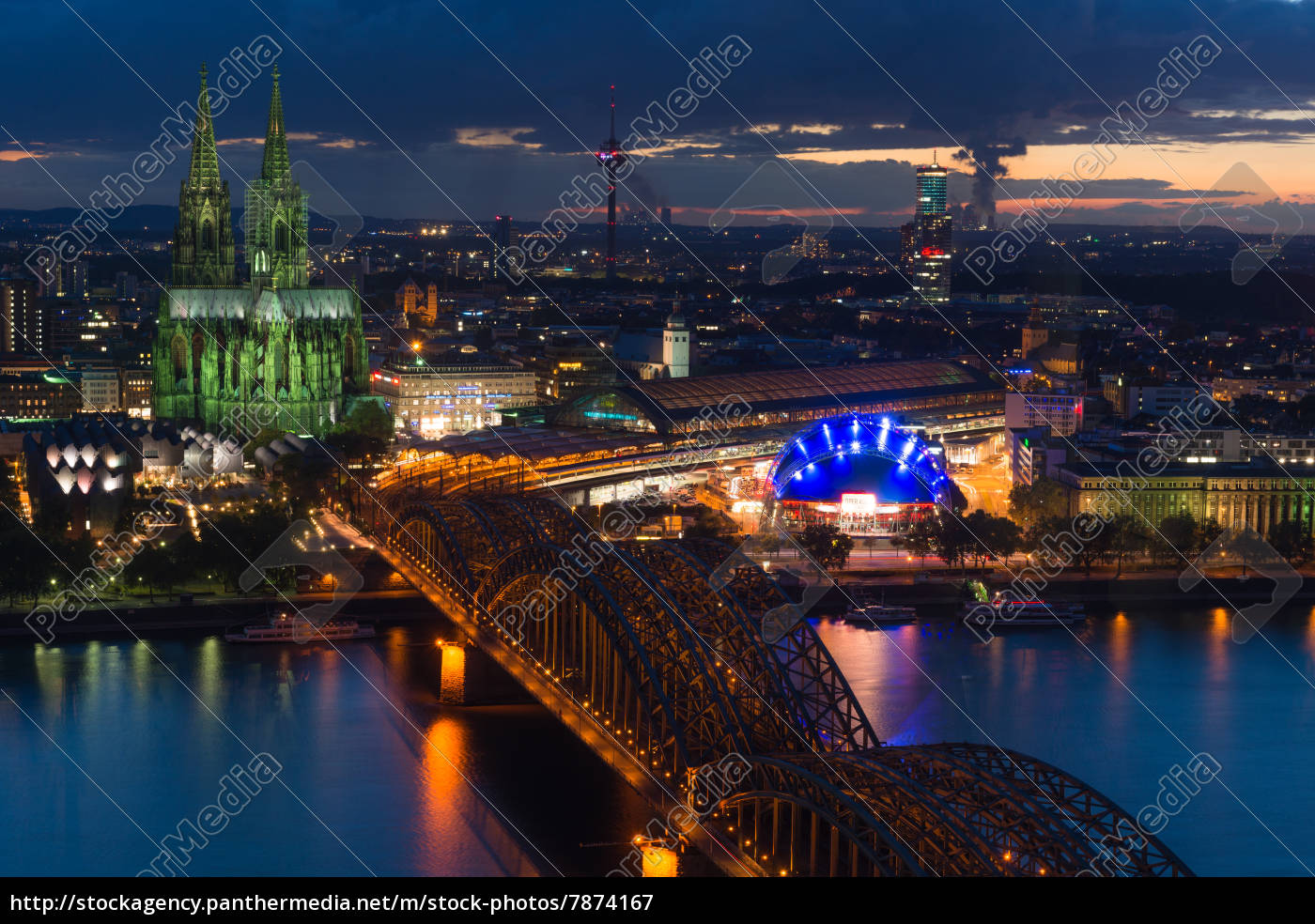 classic, view, cologne - 7874167