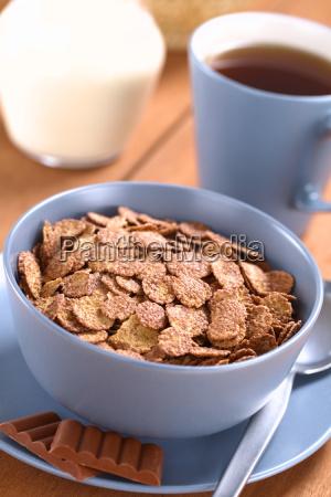 chocolate corn flakes
