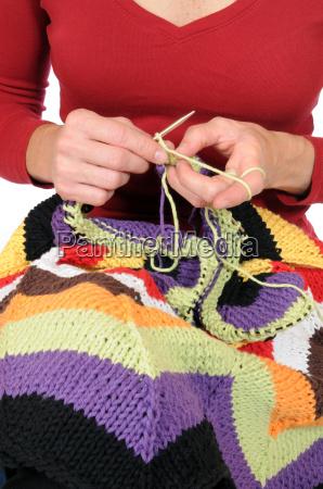 wool knit needles