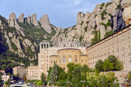kloster santa maria de montserrat katalonien