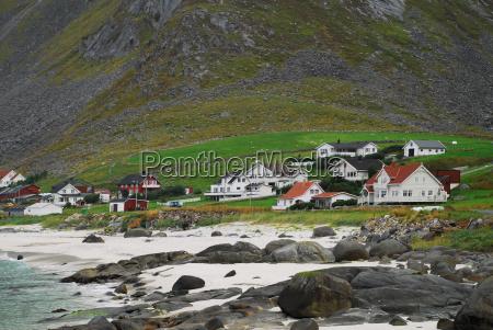 haeuser am fjord