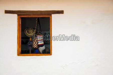 hut sack kolonial kolumbien souvenirs geschaeft
