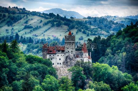bran mittelalterlichen burg siebenbuergen rumaenien