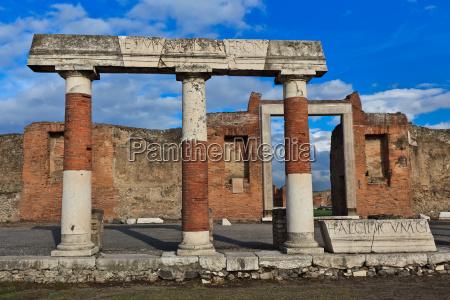 pompei italien