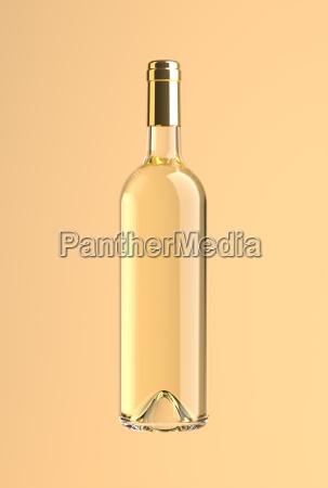 wine bottle withe