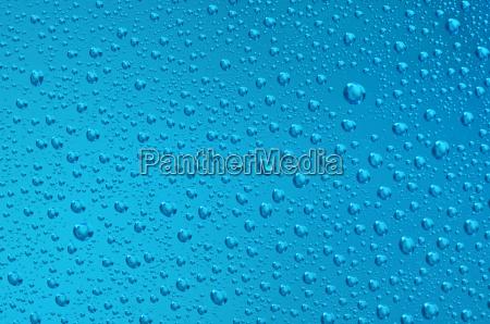 blaue wasserblasen