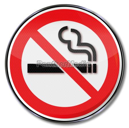 verbotszeichen rauchverbot