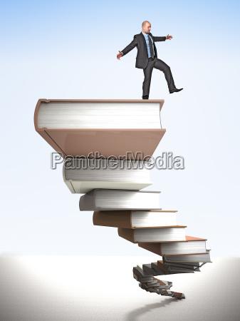 balance on books