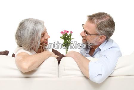aelteres ehepaar