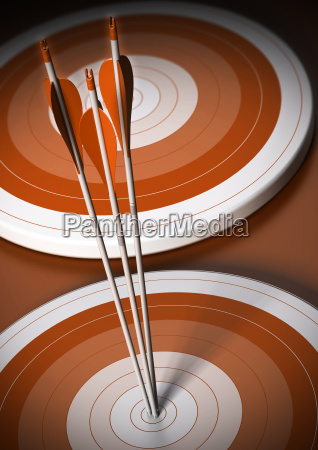 target and arrow background business goal