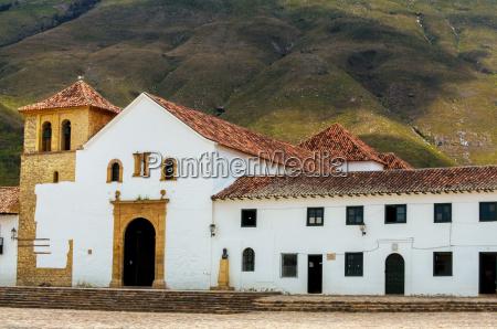 church in villa de leyva
