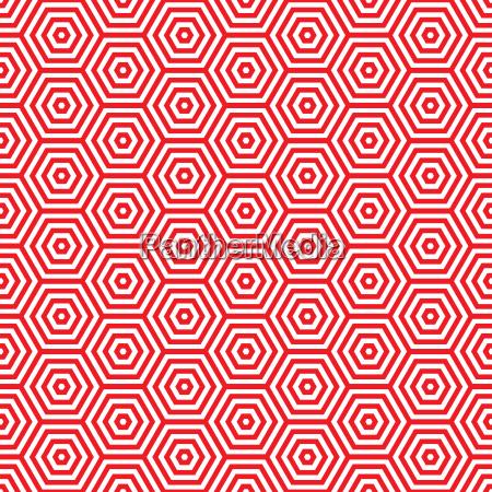 retro rote siebziger jahre muster