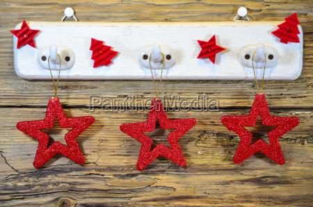 weihnachten holz herz stern