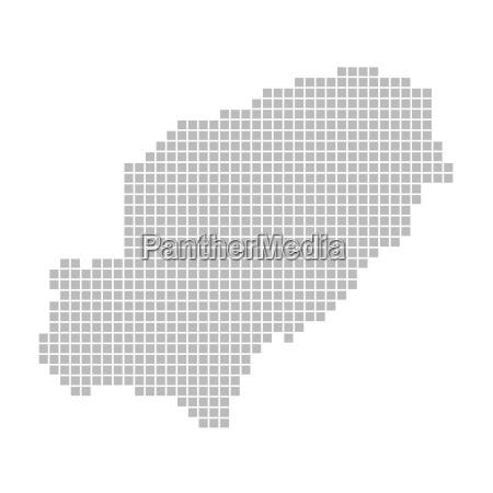 Ibiza Karte Umriss.Karte Aus Pixeln Ibiza Stock Photo 8103562 Bildagentur