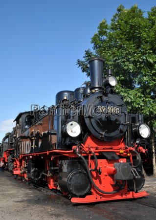 mallet locomotive in the harz