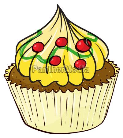 a cupcake