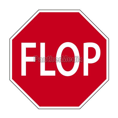 scherz verkehrszeichen flop