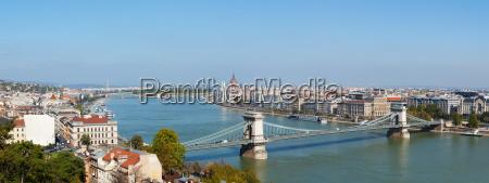 panorama panoramico de budapest hungria