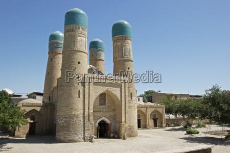 medrese chor minor buchara usbekistan