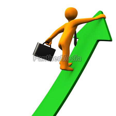career success green arrow 2