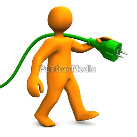 green energy walk